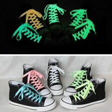 Hot Luminous Shoelaces Athletic Sport Boots Shoe Glow In The Dark  Laces Strings