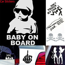 Various Funny Car Stickers Truck Window Decal Graphics Sticker Decals Decration