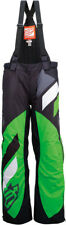Arctiva Mens Black/Green Comp Insulated Snowmobile Bibs