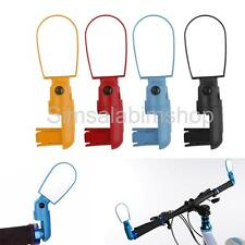 ROTATE FLEXIABLE BICYCLE CYCLE HANDLEBAR REARVIEW MIRROR MOUNTAIN ROAD BIKE