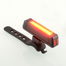 Hot Bicycle Bike Front Rear Red USB Rechargeable LED Light 6 Modes  Flashlight
