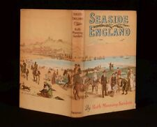 1951 Seaside England By Ruth Manning-Sanders First Edition Dustwrapper