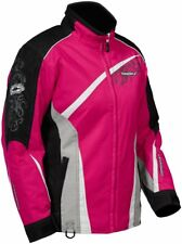 Castle X Snow Ladies Charm Magenta Insulated Snowmobile Snowboard Riding Jacket