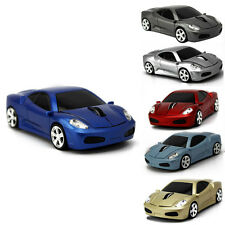 2.4Ghz Wireless Car Shape USB 1200DPI Optical Mouse Mice +Receiver For Laptop PC