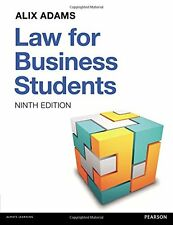 Law for Business Students,PB,Law for Business Students - NEW