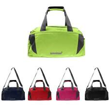 Men Portable Shoulder Tote Bag Sports Travelling Duffle Gym Luggage with Strap