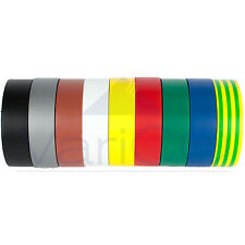 ELECTRICAL PVC INSULATION TAPE / INSULATING TAPE 19mm x 20m FLAME RETARDANT