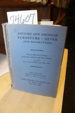 Galleries, Parke-Bernet; English and American Furnit...