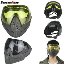 Tactical Airsoft Anti-fog Goggle Paintball Full Face Lens Protective Mask Hunt