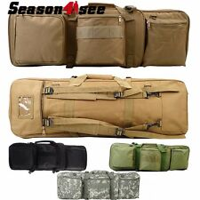 "33""/85CM Military Airsoft Tactical Dual AEG Rifle Gun Carrying Bag Case Backpack"