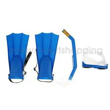 Professional Snorkel Mask & Fin/Flippers Scuba Swimming Diving Snorkelling Set