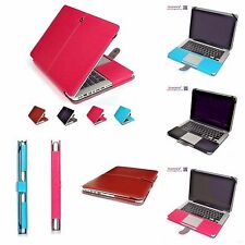 Macbook Air Pro Laptop Case Applecare Leather Notebook Cover Sleeve Bag 11 13 15