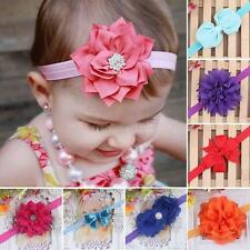 Princess Baby Girl Toddler Infant Flower Headband Hair Bow Band Accessories Gift