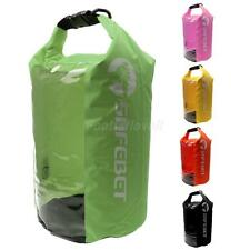PVC Waterproof Dry Bag Sack for Canoe Boating Kayaking Camping with Clear Window