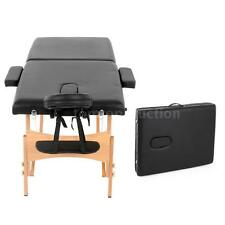 "2"" Pad 73"" Massage Table Folding Facial Bed Beauty Bed For Spa Tattooing F2H5"