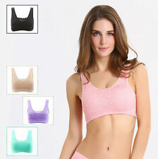 Stretch Tank Top Workout Intimates Bras Clothing Lace Bra Women Yoga Sports bra