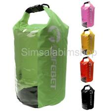 8L Waterproof Dry Bag Kayaking Rafting Hiking Sack Pouch with Clear Window