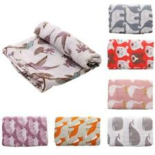 Large Muslin Baby Swaddle Blankets Newborn Cotton Swaddle Wrap Nursing Towel