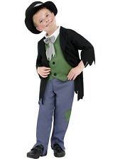 Kids Dodgy Twist Victorian Poor Boys Book Week Fancy Dress Costume Party Outfit