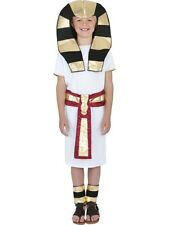 Kids Egyptian Pharaoh Boy King Boys Book Week Fancy Dress Costume Party Outfit