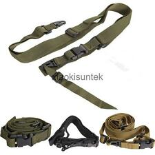 QUICK RELEASE 3-Point Hunting Tactical Airsoft Rifle Sling Gun Strap Adjustable