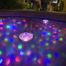 Floating Underwater LED Disco Light Glow Show Swimming Pool Hot Tub Spa Lamp LOT