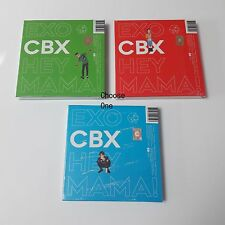 EXO CBX 1st Mini Album Hey Mama! Sealed CD Booklet photocard Folded poster K-POP