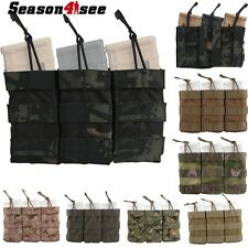 EMERSON Tactical Modular Triple Magazine Pouch Mag Open Top Holder Bag EM6355