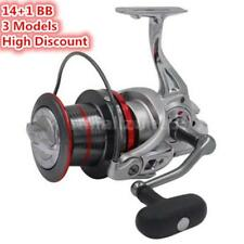 14+1 BB Casting Spinning Fishing Reel Surfcasting Left/Right Hand Spinning Q1H3