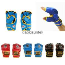 New Half-finger Boxing Gloves UFC MMA Sandbag Training Grappling Punching Gloves