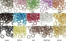 100 Round 5mm Anodized Aluminum Jumprings  ~ 20 gauge   ~ Many Colors To Choose!