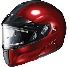 HJC IS-MAX BT Framed Electric Modular Snow Helmet Wine