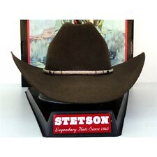New Stetson Cowboy/Western Hat's, 100% Buffalo Felt, Comes With Free Box