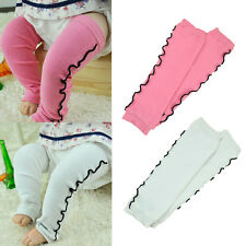 Baby Toddler Child Girl Pink White Floral Leggings Socks Tights Arm Leg Warmers