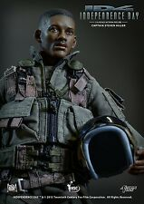 Action Toys 1/6 ID4 Captain Steven Hiller Will Smith Action Figure Statue Toy