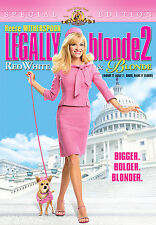 Legally Blonde 2: Red, White and Blonde DVD 2008 Reese Witherspoon Special Ed.