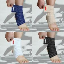 Adjustable Ankle Support Brace Foot Guard Sprain Injury Wrap Splint Strap Sports