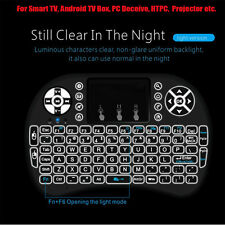 i8+ H9 Wireless Mini Keyboard Mouse Touchpad with Backlight for PC Smart TV PS4