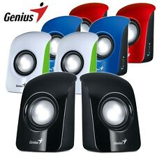 Mini Computer Speaker Multimedia Stereo Desktop Laptop PC USB Aux Speakers