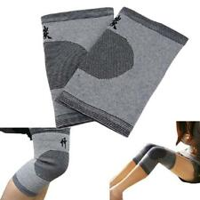 Pair Knee Brace Support Stretch Bamboo Charcoal Kneecap Sport Leg Protector