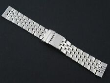 HEAVY 22MM 24MM STAINLESS STEEL WATCH STRAP FOR BREITLING BENTLEY - SOLID LINKS