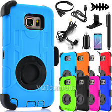 For Samsung Galaxy Note 5 Holster Belt Clip Hard Case with Slim Cover Kickstand