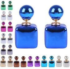 Jewelry Women Charm Stud Earrings 1 Pair Colorful Candy Colors Statement Square