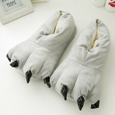 Adult Baby Cartoon Animal Cosplay Costume Slippers Dinosaur Claw Paw Shoe indoor