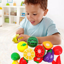 Fruit Vegetable Cutting Kitchen Knife Fun Toy Gift Tools For Baby Kids Play LOT