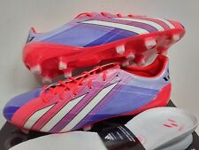 ADIDAS F50 ADIZERO TRX FG SYN MESSI FOOTBALL BOOTS SOCCER CLEATS BLUE RED WHITE