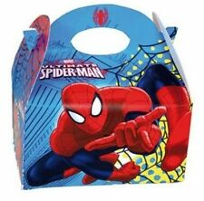 Spiderman Party Box for Children Kids Food Loot Lunch Gift Birthday Box Bags