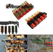 6 Round 12Gauge 20GA Hunting Shotgun Shell Ammo Carrier Holder Pouch Paintball