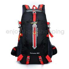 40L Waterproof Outdoor Backpack Rucksack Sports Camping Hiking Travel Large Bag