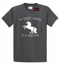 My Spirit Animal Is A Unicorn Funny T Shirt Unicorn Lover Gift Tee